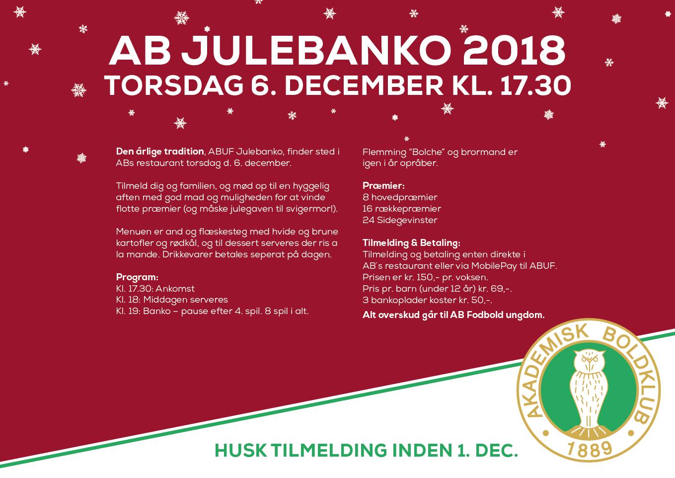 AB JULEBANKO 2018